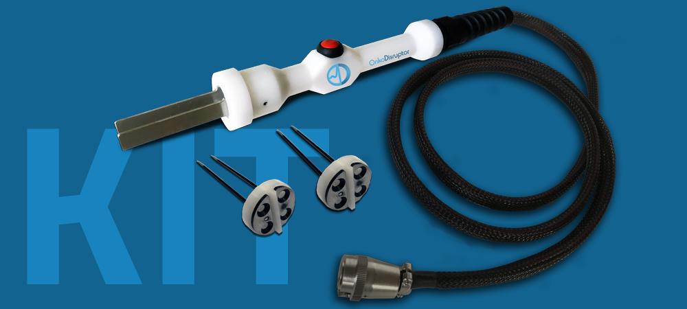 The Onkodisruptor Stick Probe kit for veterinary electrochemotherapy